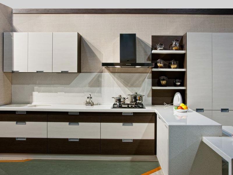 кухня Амелия кремовая линия 1