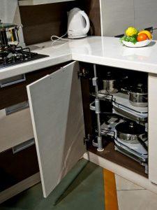 кухня Амелия кремовая линия 4