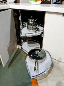 кухня Амелия кремовая линия 5