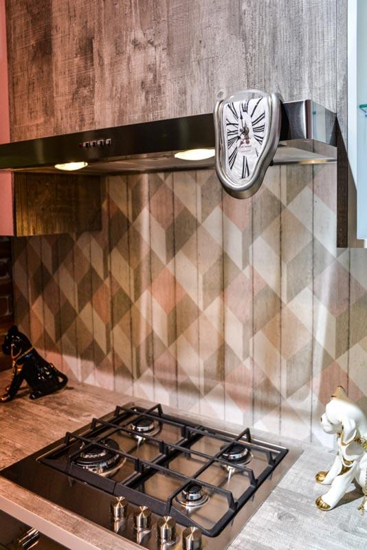 Кухня Мастершафт Петра бетон серый 10