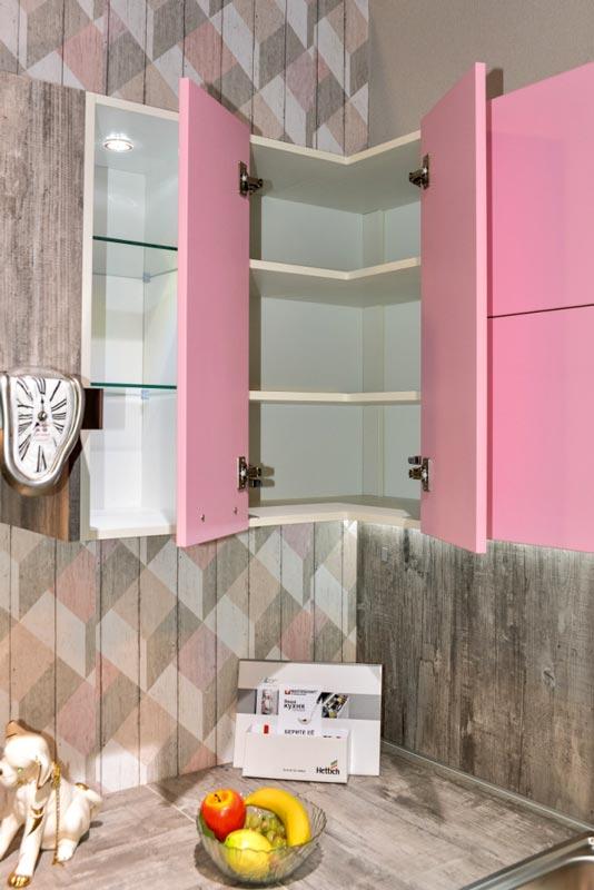 Кухня Мастершафт Петра бетон серый 11