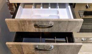 Кухня Петра бетон серый 6