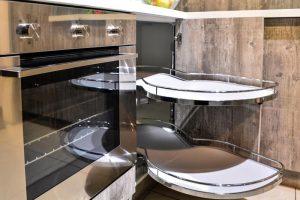 Кухня Петра бетон серый 8